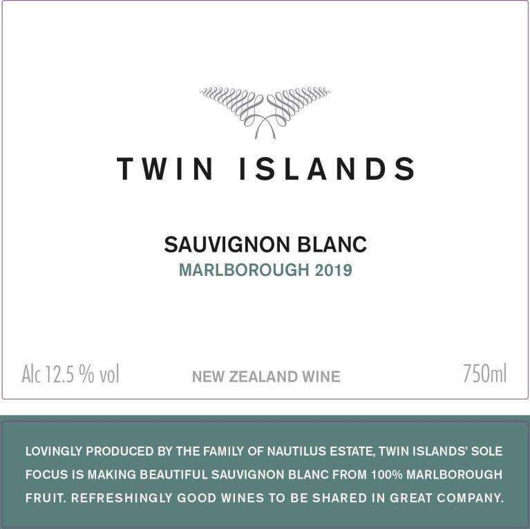 Twin Islands Marlborough Sauvignon Blanc 2019 750ml