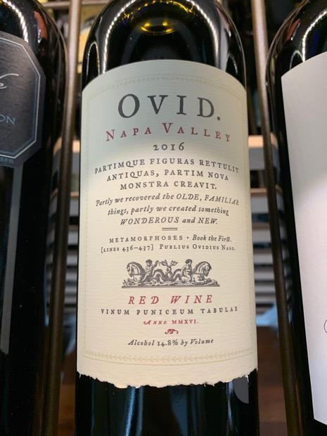Ovid Nap Valley Red 2016 750 ML