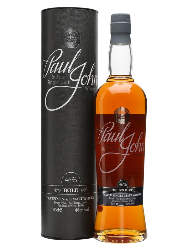Paul John Bold Indian Single Malt Whisky 750ml