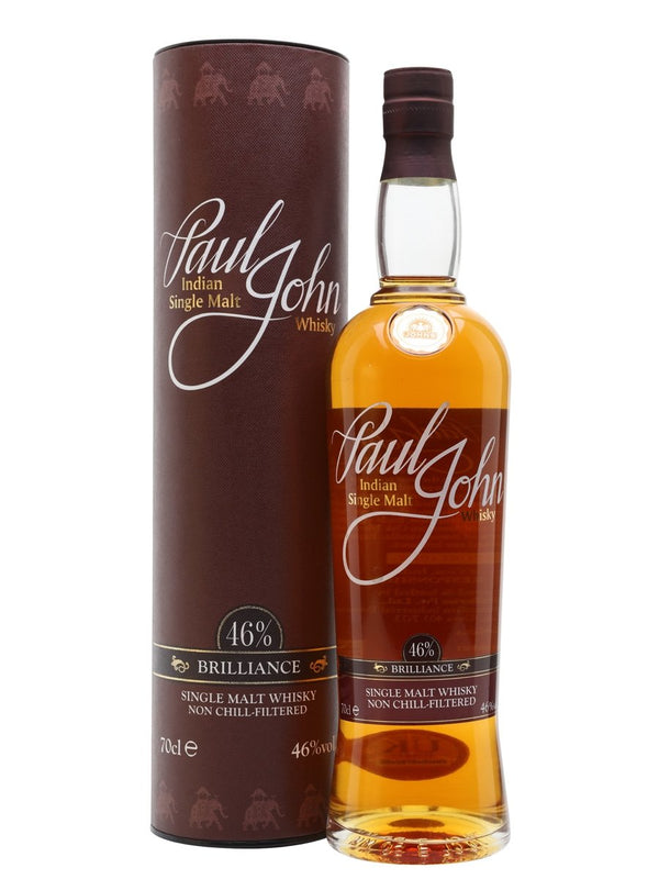 Paul John Brilliance Indian Single Malt Whisky 750ml