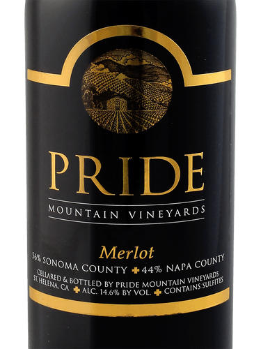 Pride Mountain Merlot 2018 750 ML