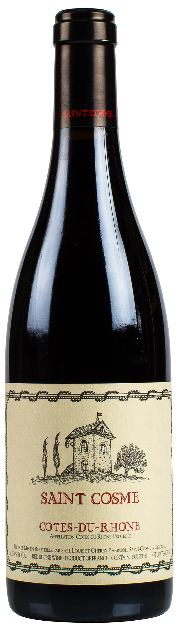 Saint Cosme Cotes-Du-Rhone Red 2018 750ml