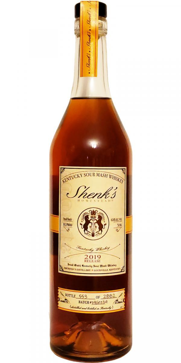 Shenk's Homestead Kentucky Sour Mash Whiskey 750ml