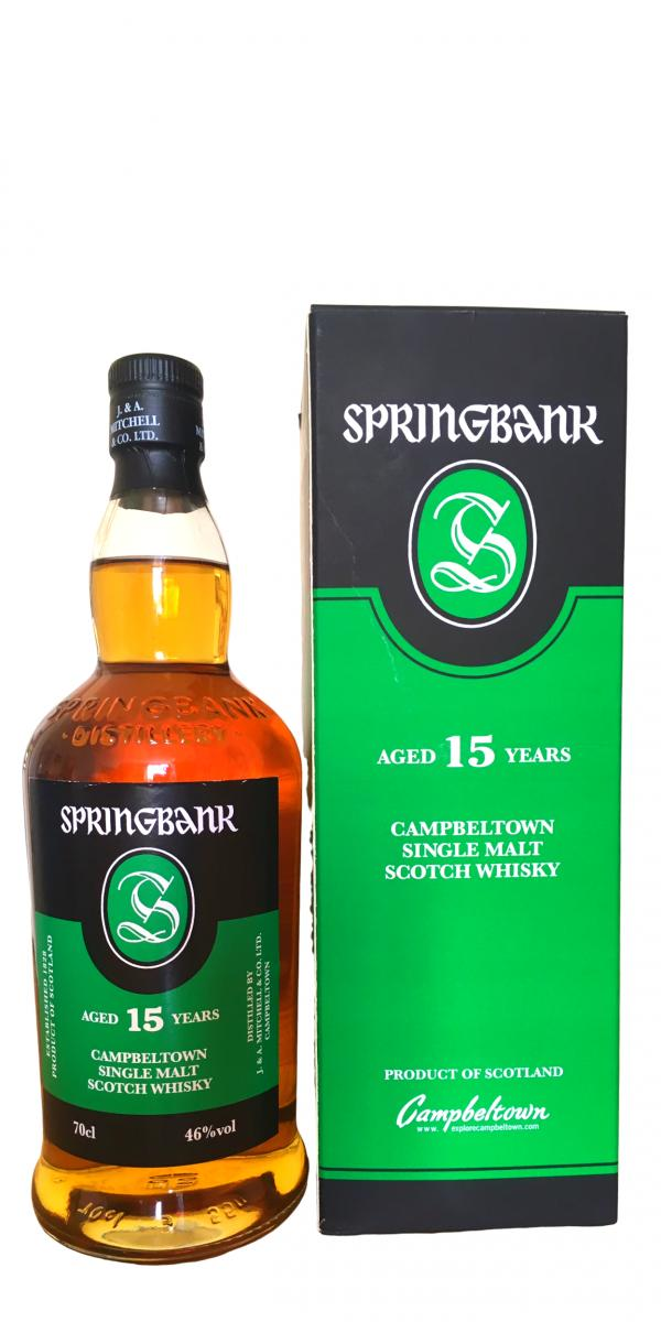 Springbank 15 years Single Malt Scotch 750ml