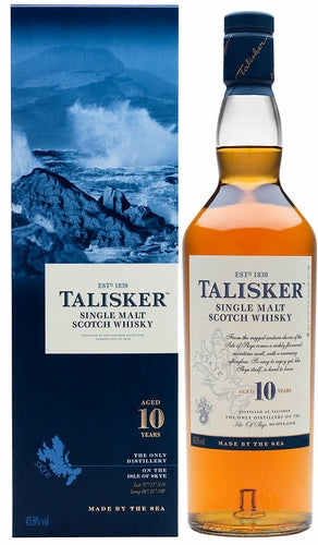 Talisker 10 years Single Malt Scotch Whisky 750ml