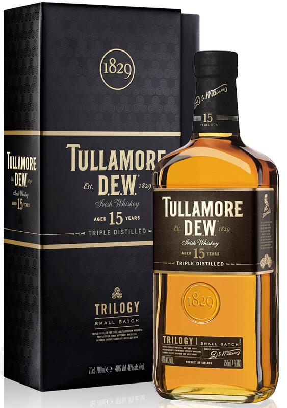 Tullamore D.E.W. Trilogy 15 Years Irish Whiskey 750ml