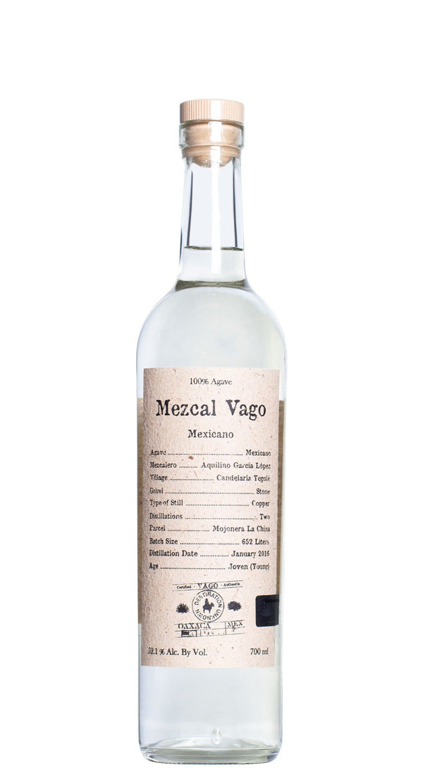 Mezcal Vago Mexicano by Aquilino Garcia 750ml