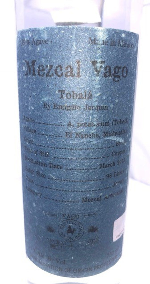 Mezcal Vago Tobala 750ml