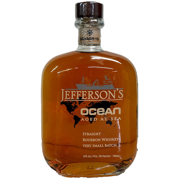 Jefferson's  Ocean Aged At Sea Special Wheated Voyage 19 750ml