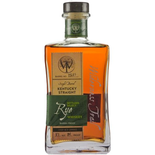 Widerness Trail Single Barrel Rye Whiskey 750ml