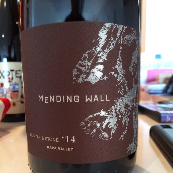Mending Wall Mortar & Stone 2015 red 750ml