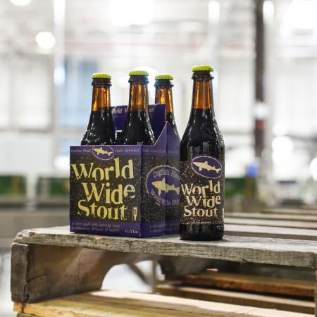 Dogfish Head World Wide Stout 12 oz btl