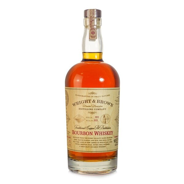 Wright & Brown Bourbon Whiskey 750ml