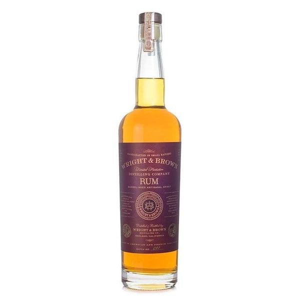 Wright & Brown Single Barrel Rum 750 ml