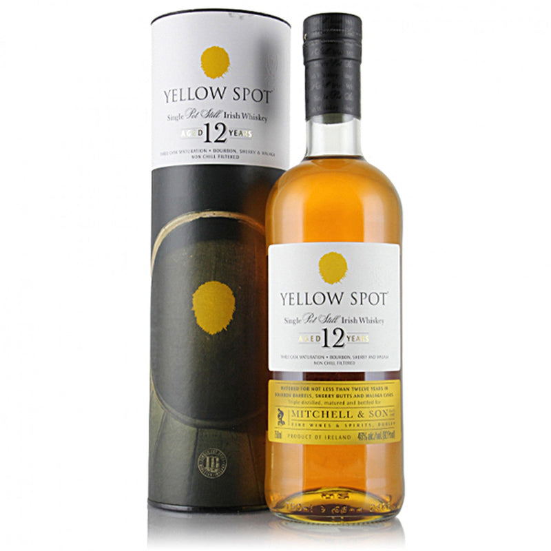 Yellow Spot Irish Whiskey 12 year 750 ml
