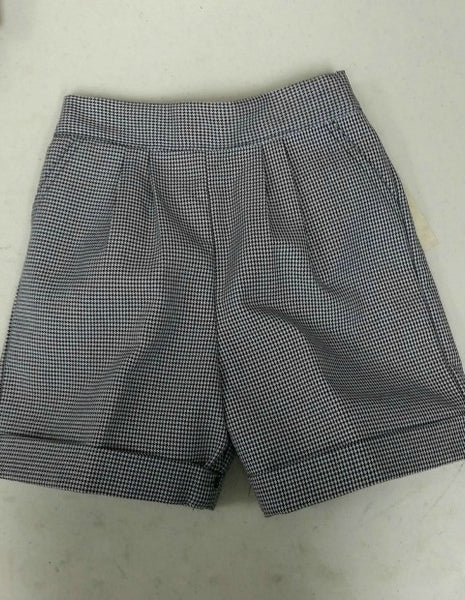Pull-On Shorts: Plaid 03N