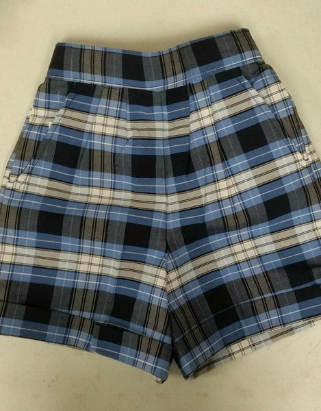 Pull-On Shorts Plaid 76