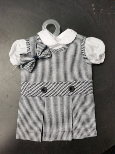 Doll Jumper Set Plaid 03N