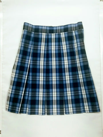 Pleated Skirt Plaid 76