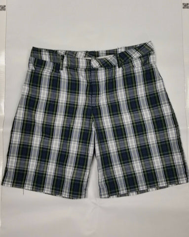 Girls Shorts: Plaid 80