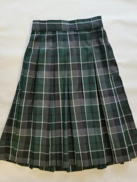 Pleated Skirt Plaid 75