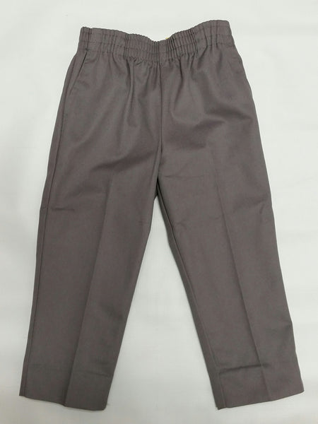 Pull-On Pants Grey