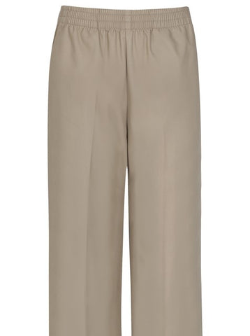 Pull-On Pants: Khaki