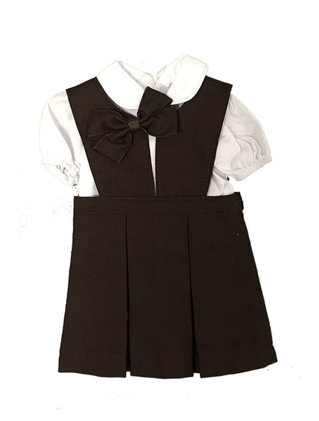 Doll Jumper Set Brown