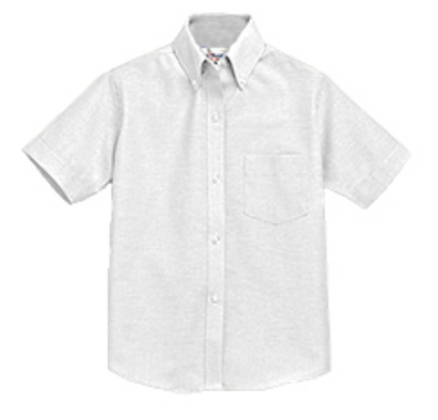 Oxford Short Sleeve White