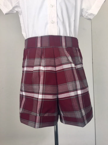 Pull-On Shorts Plaid 54