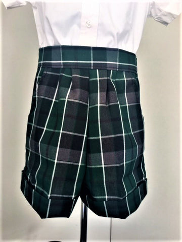 Pull-On Shorts Plaid 75