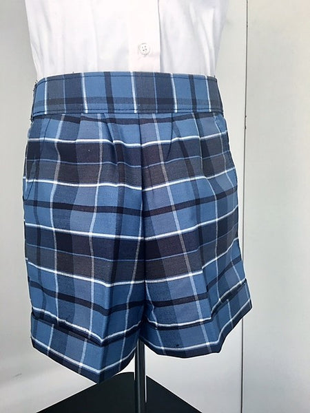 Pull-On Shorts Plaid 59