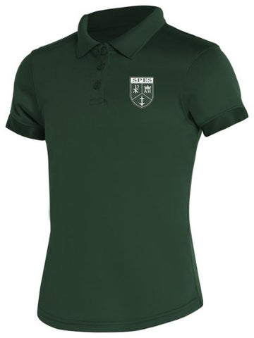 Girls DryFit Polo: St. Pius