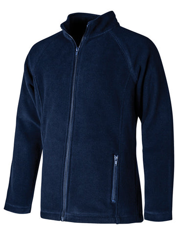 Girls Fleece Jacket Navy