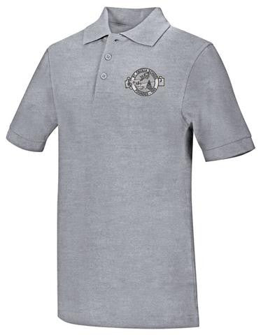 DryFit Polo: SCS Grey