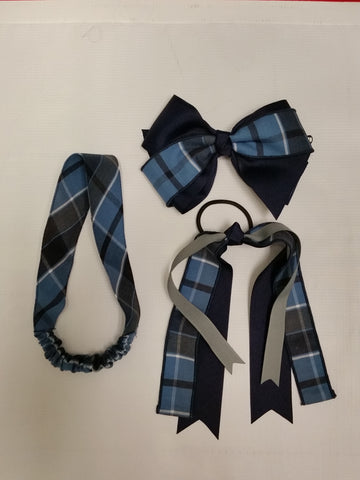 Hair Accessories Plaid 59