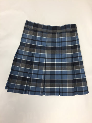 Pleated Skirt: Plaid 59