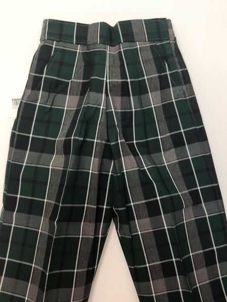 Pull-On Pants Plaid 75