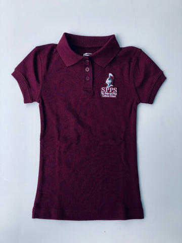 Girls Jersey Polo SPPS
