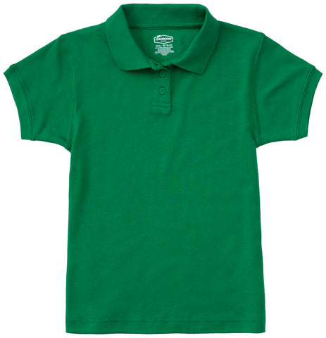 Ladies Jersey Polo Kelly Green