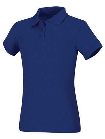 Girls Jersey Polo: 4 Colors