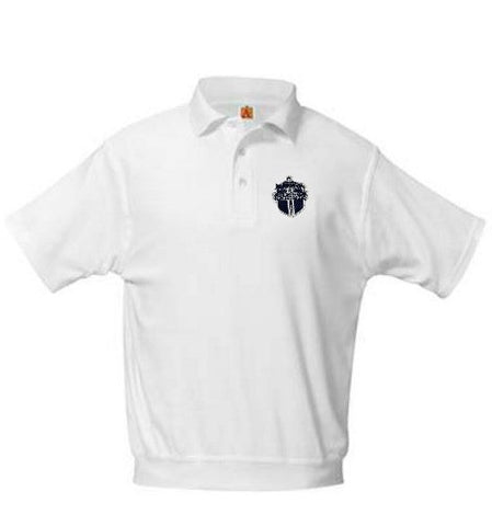 Banded Polo LCA White