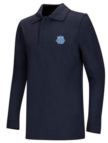 DryFit Polo LS Ascension Navy