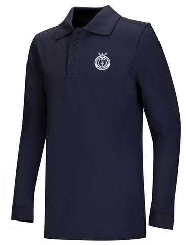 Jersey Polo LS: ESA Crest 3 Colors