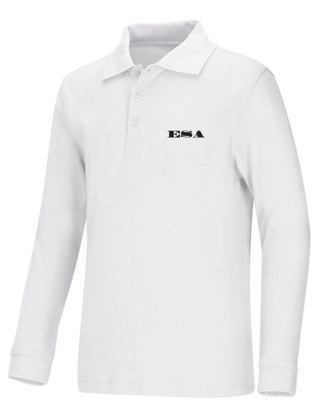 Youth LS Jersey Polo ESA Letters