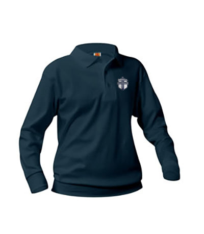 Banded Polo LS LCA Navy