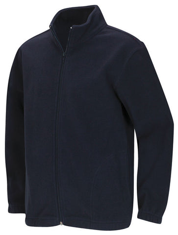 Fleece Jacket: Navy