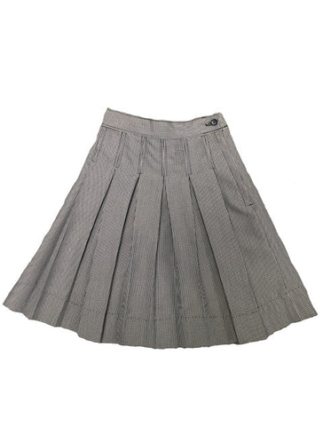 Pleated Skirt: Plaid 03N