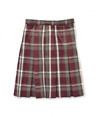 Pleated Skirt Plaid 54