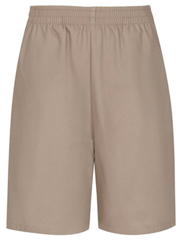 Pull-On Shorts: Khaki